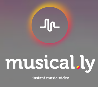 musical.ly home screen