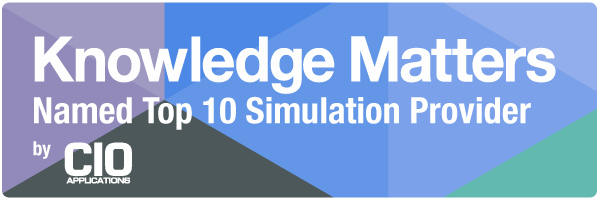 CIO Applications Magazine Recognizes Knowledge Matters As Top 10 Simulation Solution Provider