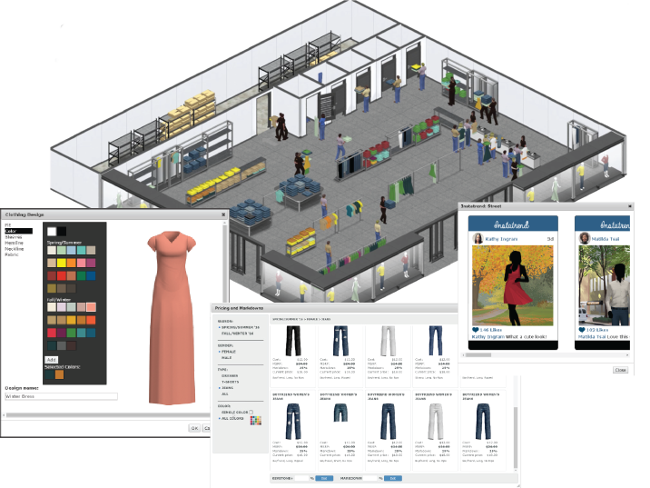 Interactive Online Fashion Business Simulation For High School Students